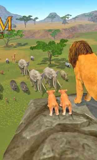 la sim del leone: ascesa di un re 1