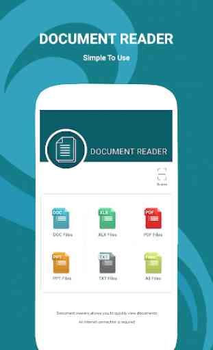 lettore di documenti: lettore di ebook e lettore 1