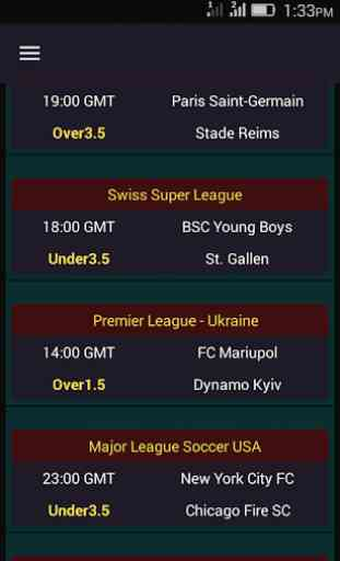 Over/Under 2.5 - Fixed Matches 4