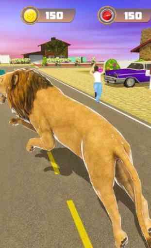 simulatore di leoni - la rivincita della città 1
