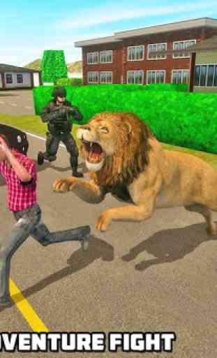 simulatore di leoni - la rivincita della città 2