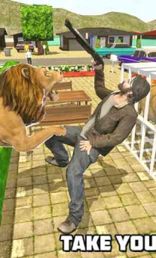 simulatore di leoni - la rivincita della città 3