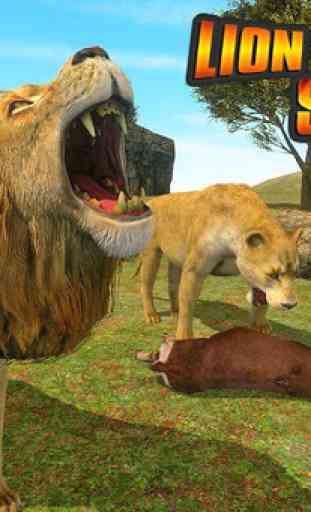 simulatore di leoni - la rivincita della città 4