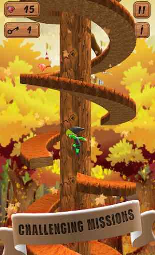Spiral Jump  Castle Clash Game 2