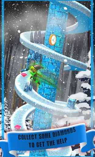 Spiral Jump  Castle Clash Game 3