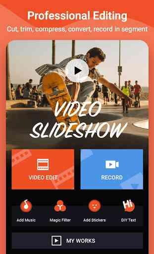 Video Maker Editor & MV Video Master - VidArt 1