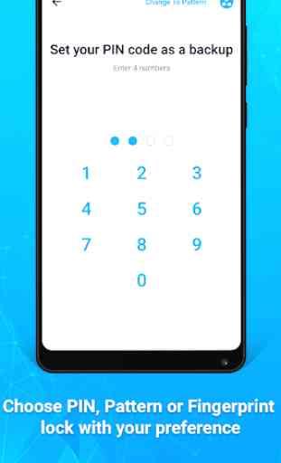 AppLock Lite - Lock App, Fingerprint, PIN, Pattern 2