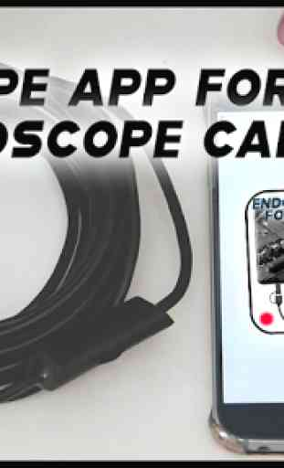 Endoscope APP for android - Endoscope camera 3
