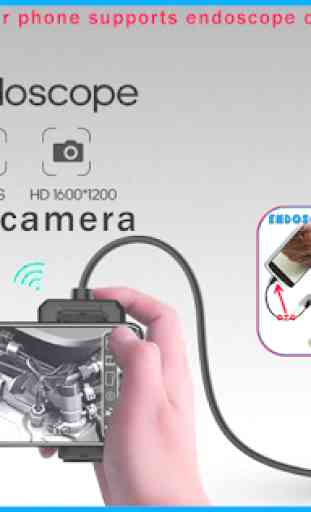 Endoscope Camera - endoscope app for android 1
