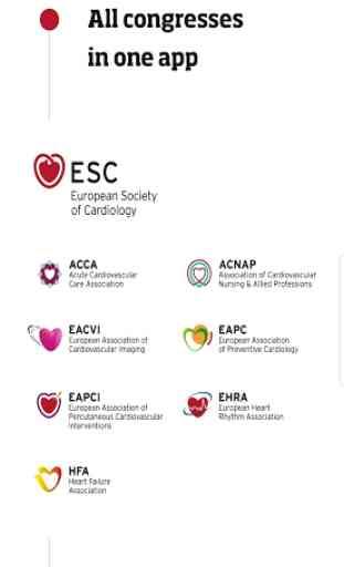 ESC Congresses 1
