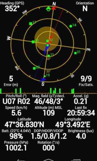 GPS Status - notification proxy plugin 1
