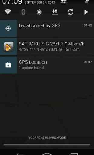 GPS Status - notification proxy plugin 2