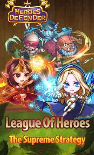 Defender Heroes: Castle Defense - Epic TD Game 1