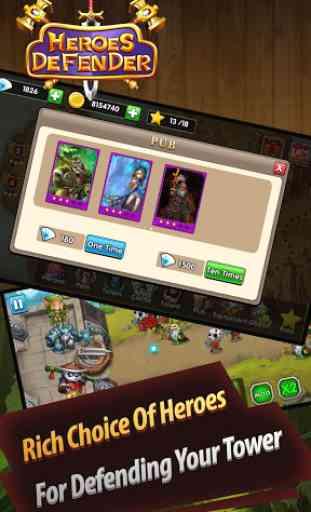 Defender Heroes: Castle Defense - Epic TD Game 2