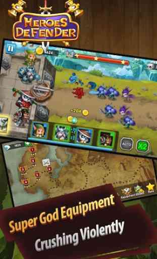 Defender Heroes: Castle Defense - Epic TD Game 3