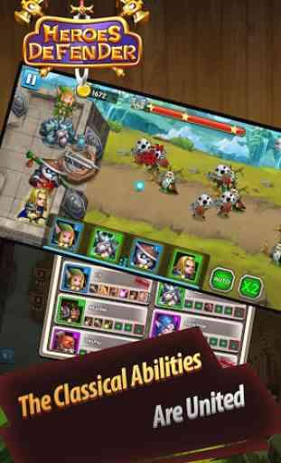 Defender Heroes: Castle Defense - Epic TD Game 4