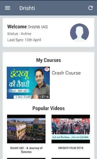 Drishti Video Classes 2