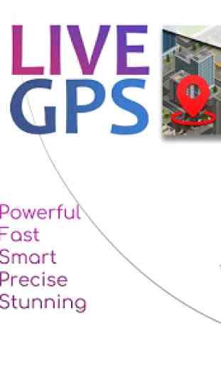 GPS Voice Navigation Free - 3D Live Street View 1