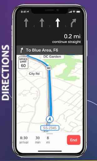 GPS Voice Navigation Free - 3D Live Street View 4