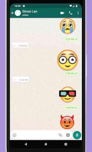 Adesivi Emoji per WhatsApp 2019 1