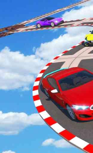 Car Fun Race Drive: Mega Ramp Wheels Car Racing 3D 3