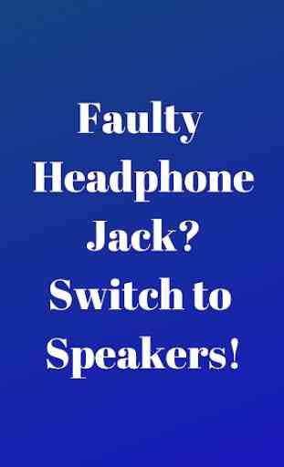 Disable Headphone(Enable Speaker) 1