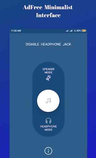 Disable Headphone(Enable Speaker) 2