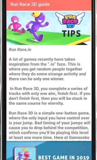 Guide for Fun Race 3D : Ultimate Tips 2019 3