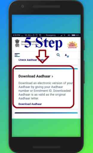 Guide for How to Download Aadhar Card 1