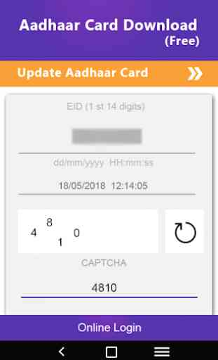 How to download Adhaarcard - Adhaarcard Downloader 2