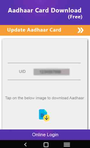 How to download Adhaarcard - Adhaarcard Downloader 3