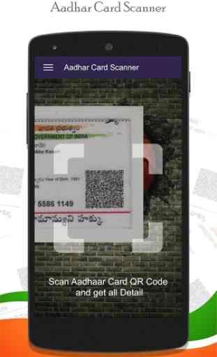 Instant Aadhar Card Scanner : QR Scanner 1