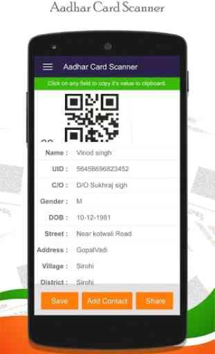 Instant Aadhar Card Scanner : QR Scanner 2