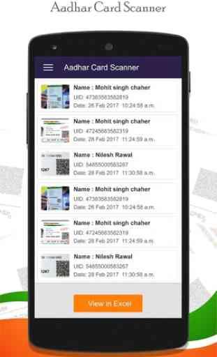 Instant Aadhar Card Scanner : QR Scanner 3