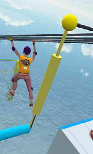Legendary Stuntman Water Fun Race 3D 3