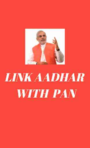 Link Aadhaar Number to PAN Card 1