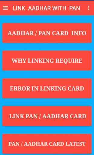 Link Aadhaar Number to PAN Card 2