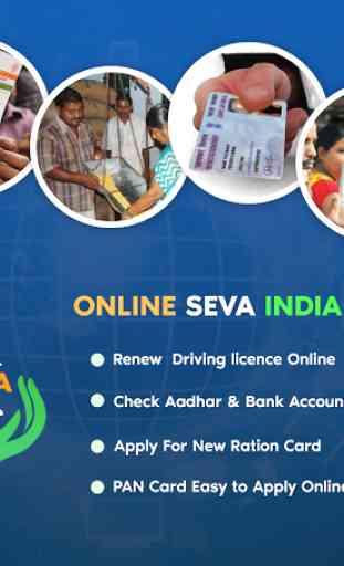 Online Seva: Digital Services of India 1
