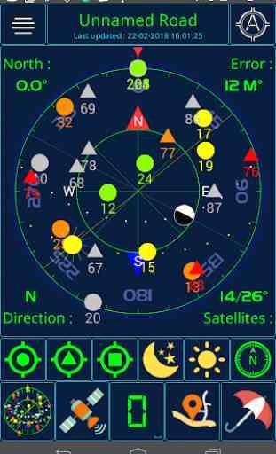 Stato GPS e meteo 1