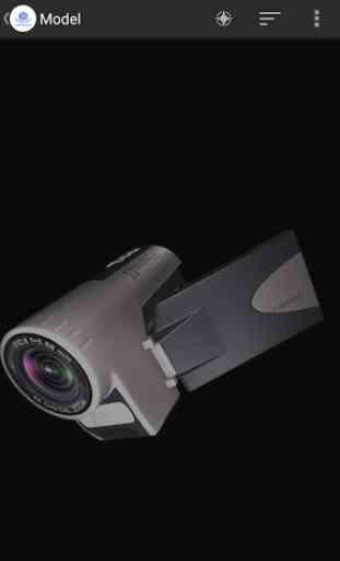 3D Model Viewer - OBJ/STL/DAE 2
