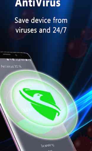 AntiVirus - Free Virus Cleaner e Booster 1