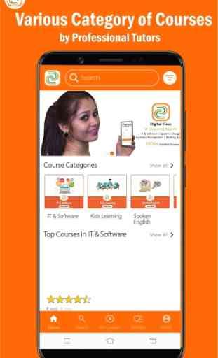 Digital Class: Online Courses Learning app 2