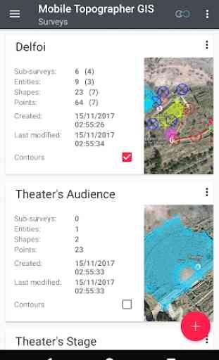 Mobile Topographer GIS 2