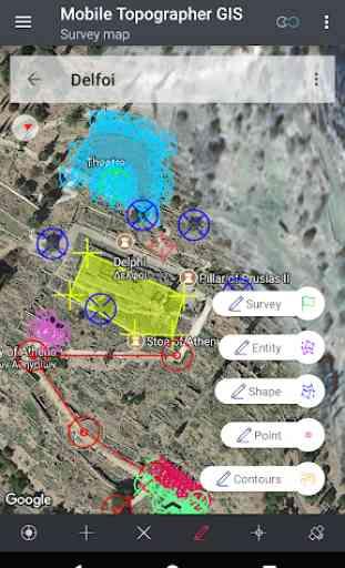 Mobile Topographer GIS 3