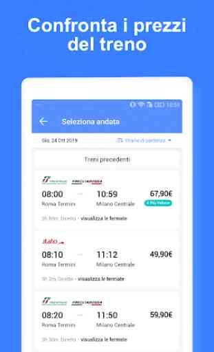 TrainPal - Prenota Biglietti Ferroviari Economici 3