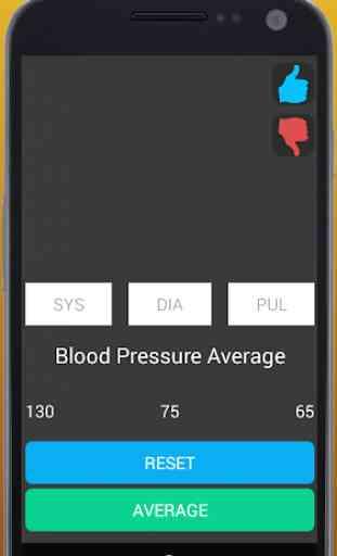 Blood Pressure Average 3