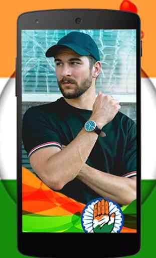 Congress Photo Frames: Selfie with Rahul Gandhi 1