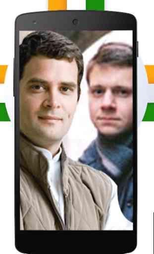 Congress Photo Frames: Selfie with Rahul Gandhi 3