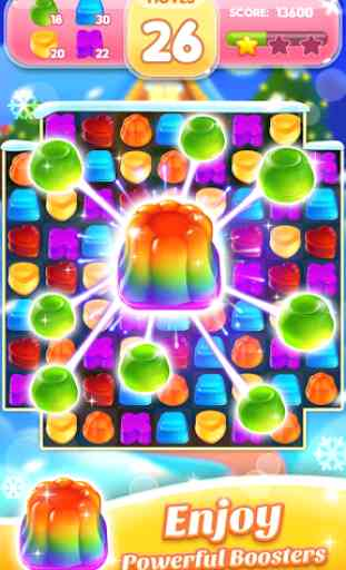 Jelly Jam Crush - Match 3 Games & Free Puzzle Game 3
