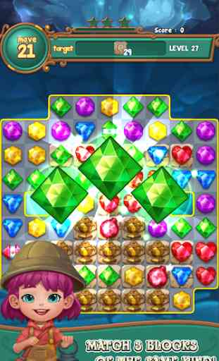 Jewels fantasy :  Easy and funny puzzle game 1